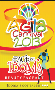 Agila 2013 face of idoma beauty pagent